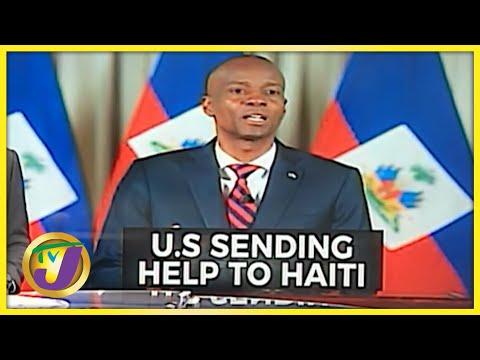 US Sending Help to Haiti   TVJ News - July 9 2021