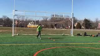 Soccer Goal Keeper Training