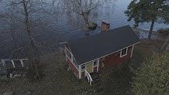 Sisustusarkkitehti Marko Paananen uudisti mökkisaunansa – rantasaunan remontti