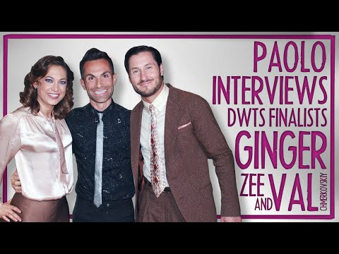 Ginger Zee & Val Chmerkovskiy on the DWTS FINALS!