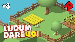 Best Ludum Dare 40 Games #8: Chicken Coup, Cool Hat Mr Hat, Clean This Mess, Evil Money, Hell-A-Work