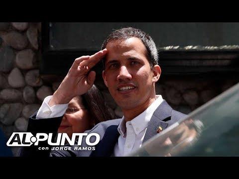 Juan Guaidó cuenta a Jorge Ramos qué piensa de una intervención militar en Venezuela
