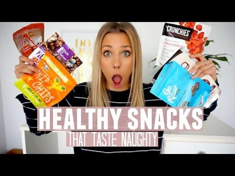 Healthy Snacks | Healthy Food That Taste Naughty [VEGAN]