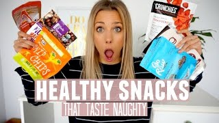 Healthy Snacks | Healthy Food That Taste Naughty [VEGAN]