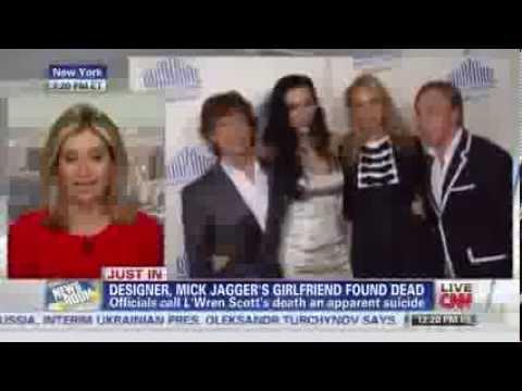 L'WREN SCOTT, Mick Jagger's girlfriend, found dead - Shocking