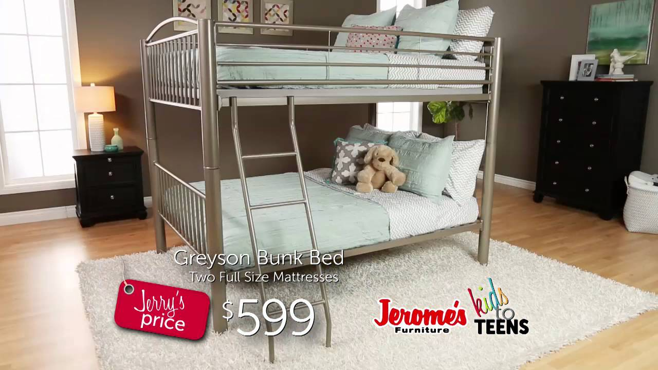 Jerome s Furniture Youth Bunk Beds
