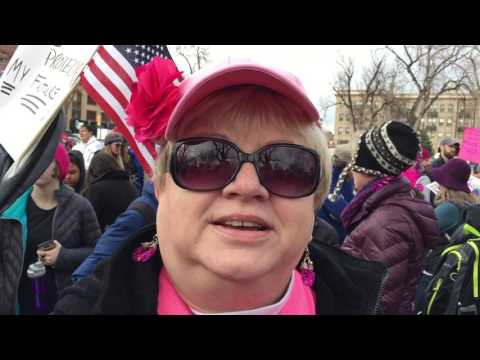 Thousands jam the streets for the Women's March on Colorado Springs