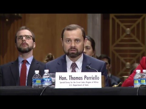 Special Envoy Perriello on U.S. Policy in Central Africa