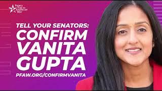 Vanita gupta will work for justice every day