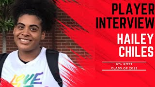 A1 Hoops Report Coach Allen interviews 2023 Hailey Chiles