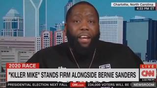 Killer Mike SHOCKS CNN With EXPLOSIVE Interview Destroying Talking Points On Bernie Sanders!