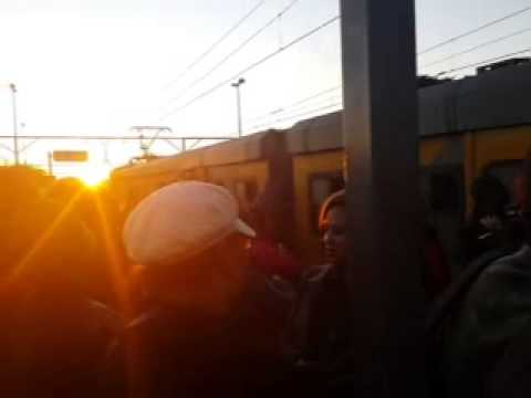 PRASA METRORAIL OVERCROWDED TRAINS IN SOUTH AFRICA