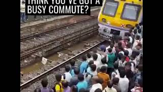 Try not to travel at rush hour, and you will also save some money - SAVEATRAIN.COM 🤼🚄🚉