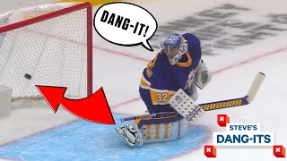 NHL Worst Plays Of The Week: He Scored From THERE!? | Steve's Dang-Its