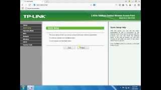 tp link 7210 client mode configuration access point
