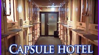 Capsule Hotel in Osaka,Japan【体験】カプセルホテルはこんなとこ