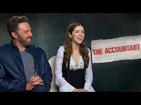[P1] Anna Kendrick & Ben Affleck | The Accountant Interviews Compilation