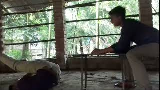 Bangla Funny Video ! BY Nasim পাঞ্জা খেলার সময় পাদ ! হাই আল্লাহ !