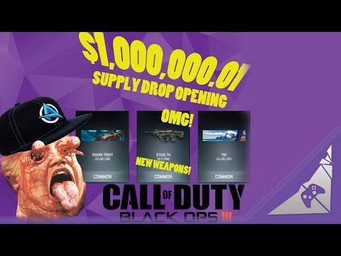 Black Ops 3 Supply Drops Are Possibly Illegal, Definitely Cancer (BO3 Black Market DLC Guns Rant)