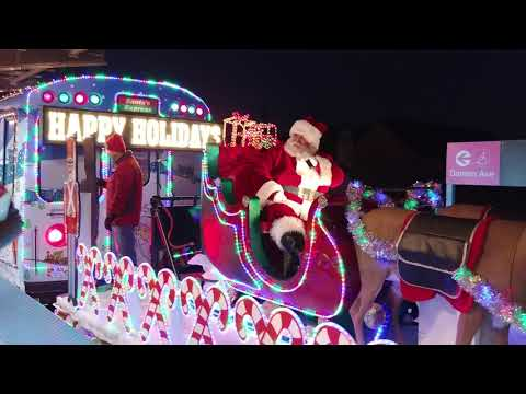 CTA Christmas Train 2017 (Pink Line)