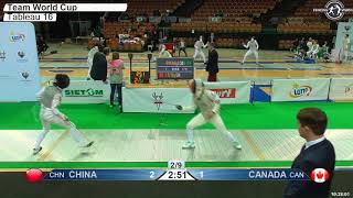 2018 824 F F Team Katowice POL WC T16 03 GREEN CANADA CAN vs CHINA CHN