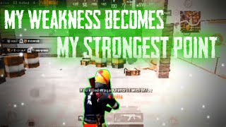 My Weakness Become  My Strongest Point|Pubg Mobile Low End device Montage|Low End Device Player
