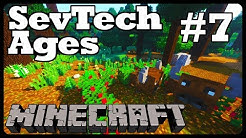 Minecraft Sevtech: Ages - BUFFALO DANCE and TOTEMIC CEREMONIES