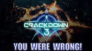Microsoft Shows Off All New Cloud Powered Crackdown 3 Multiplayer! Proves Everyone WRONG!