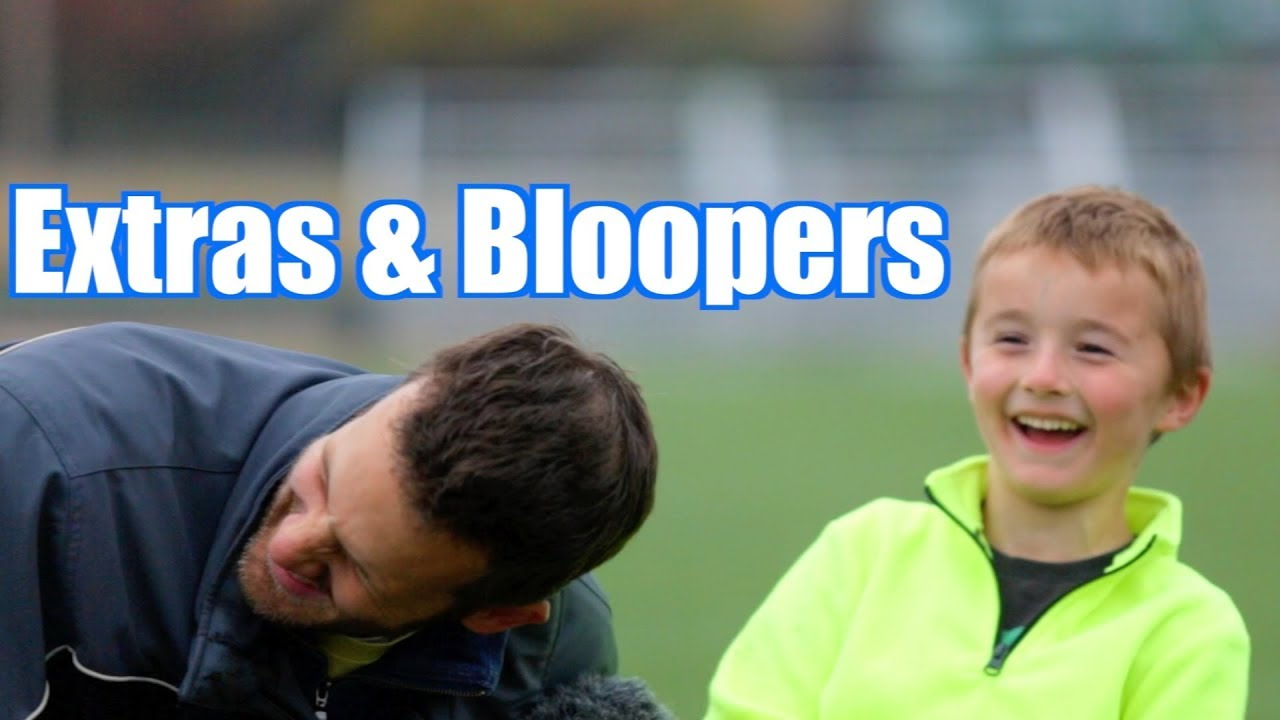 Extras And Bloopers For Trick Shot Titus  Soccer Trick Shots