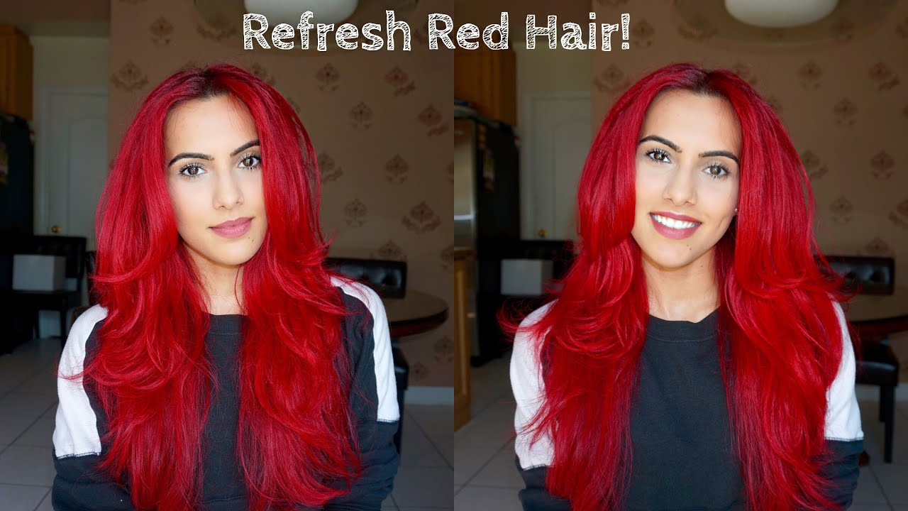 How To Refresh Dull Red Hair Youtube