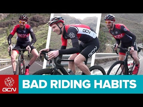 4 Bad Cycling Habits | How To Look More Pro On A Bike