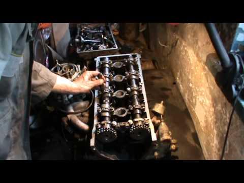 Как собрать 406 ЗМЗ двигатель часть 1 Ремонт головки