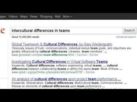 Intercultural teams