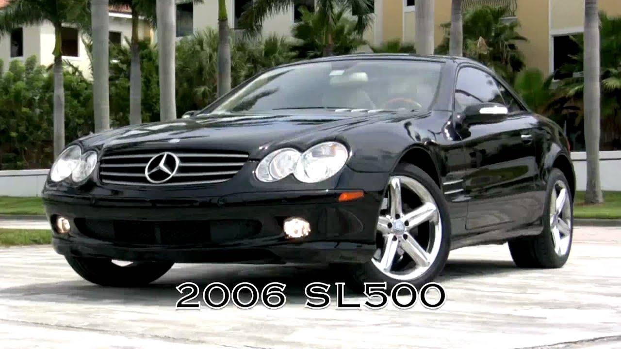 2006 mercedes benz sl500 convertible black a2537 youtube for 2006 mercedes benz e350 reviews