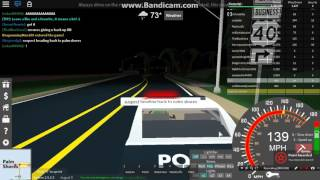 Roblox | UD Westover | Police camaro Pursuit fail ... | Traveled 46093 MPH !