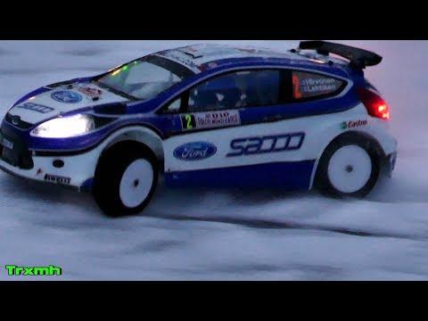 RC Rally Car Kyosho DRX VE Led Lights Snow Rally