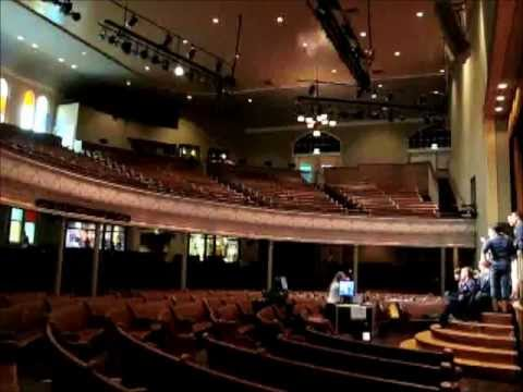 The Ryman Auditorium and Grand Ole Opry House