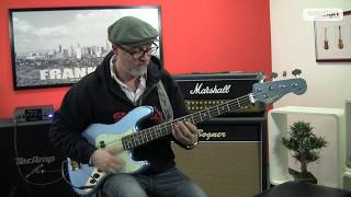 Squier By Fender James Johnston Jazz Bass LPB