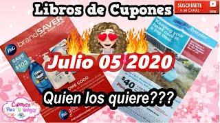🚨🔥***NUEVOS Libros  De Cupones*** 05 DE JULIO 2020🔥🔥