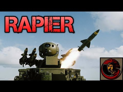 Rapier Air Defense Missile System