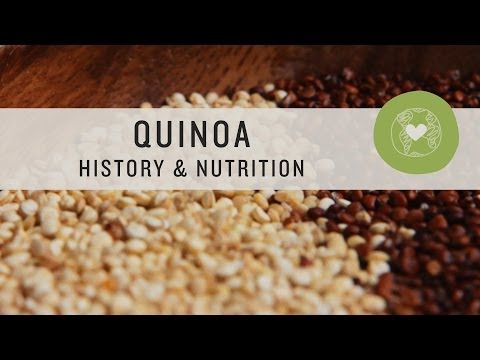 Superfoods - Quinoa History and Nutrition