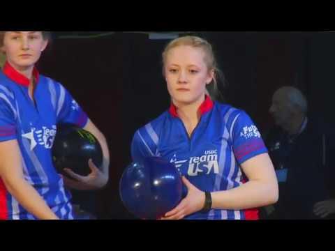 Bowling - 2019 WJC Girls Doubles Final Paris March 23