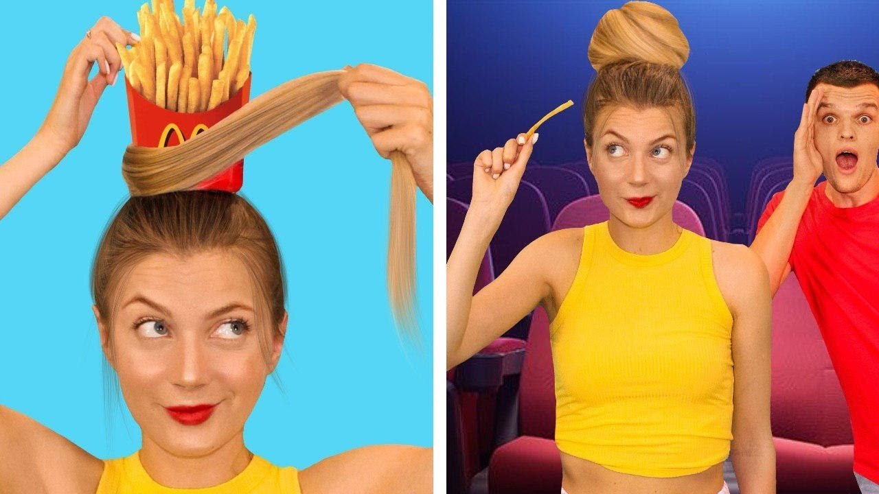 BEST FOOD HACKS! DIY Food Tips and Life Hacks & Funny Situations