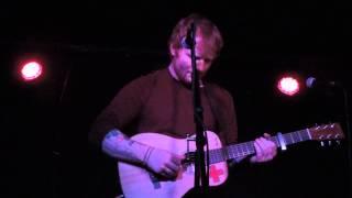 "Ed Sheeran ""Tenerife Sea"" (Mercury Lounge, NYC 10/31/13)"