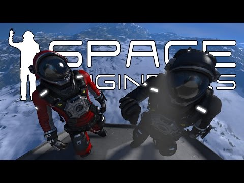 Space Engineers - Mining Survey Team #1 - The Orbital Drop
