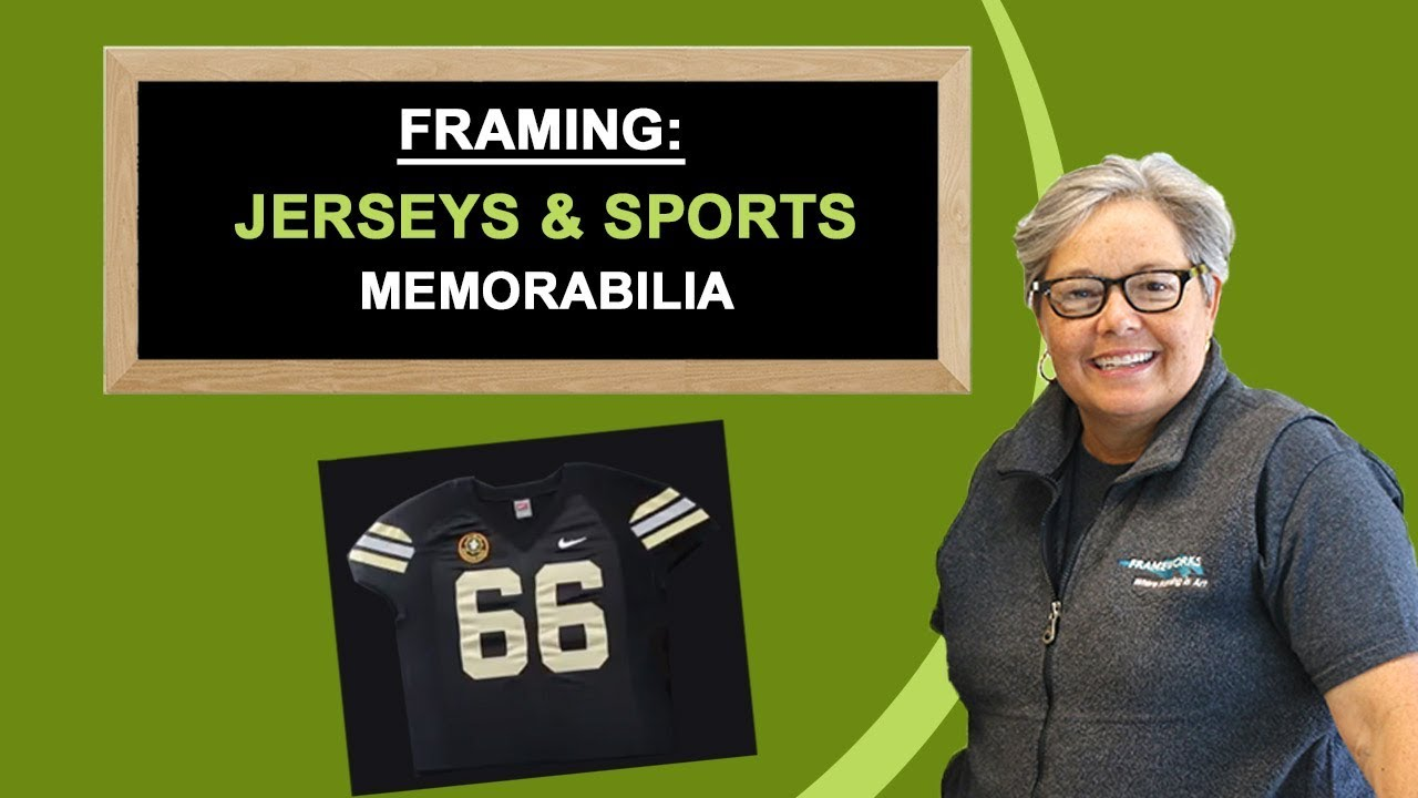 Framing: Jerseys & Sports Memorabilia - Frameworks, Miami, FL - YouTube