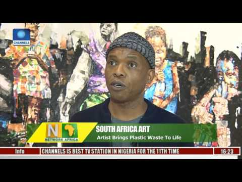 Network Africa: Artist Brings Plastic Waste To Life