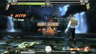 MK9 casuals, GGA Dizzy(Cage) vs GGA HAN(Cyrax, Reptile)