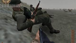 MEDAL OF HONOR: Allied Assault, MOHAA, pc game play