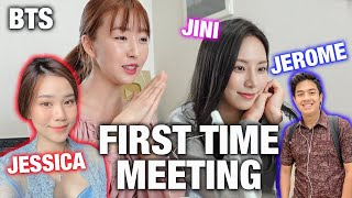 Download JINI, JESSICA JANE & JEROME POLIN ALL MEET FOR THE FIRST TIME! | Behind The Scenes